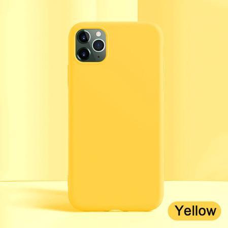 Калъф NEW LSR / Жълт / за iPhone 11 Pro 5.8