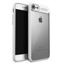 Калъф рамка /бяла/ прозрачен гръб мод.2 за iPhone 7G / 8G 4.7' / SE (2020)