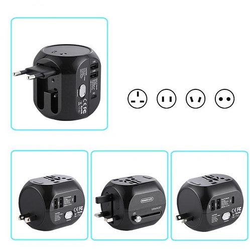 Зарядно Адаптор 220V Travel RL-EP08 QC 3.0 /Черен/
