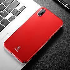 Калъф BASEUS Thin Case iPhone X / XS 5.8' / Червен /