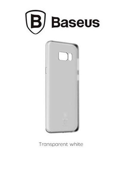 Калъф BASEUS WING case /Бял-прозрачен/ за iPhone 11 Pro MAX 6.5