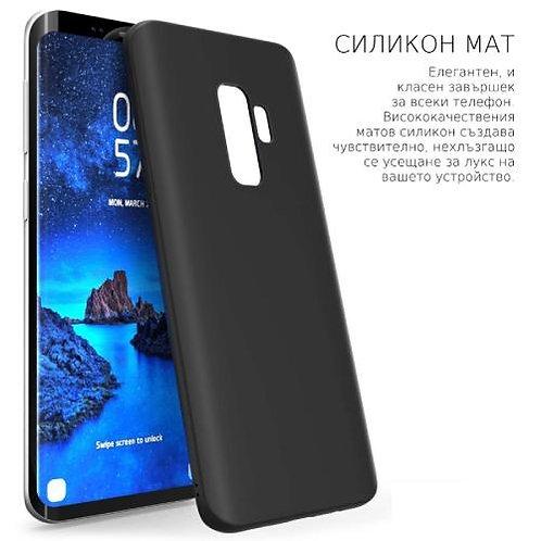 Калъф силикон /черен мат/ за Samsung M21 (M30S)