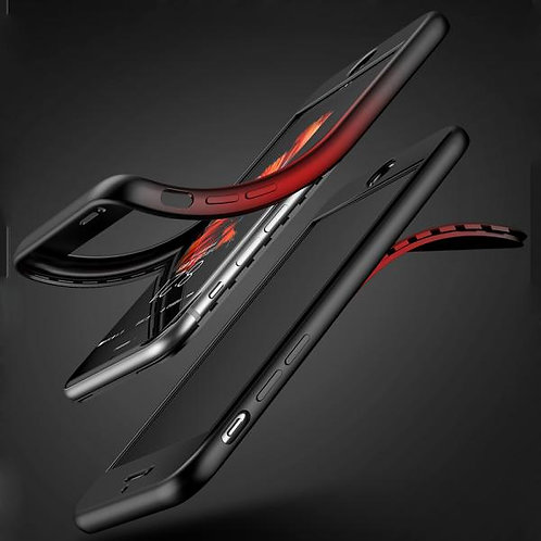 Калъф KST Силикон 360 /Черен/ за iPhone X / XS 5.8