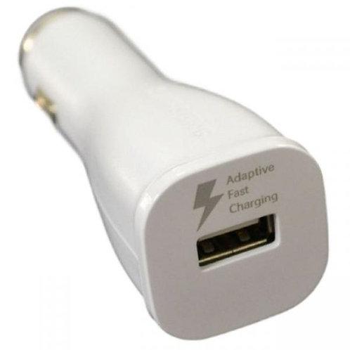 Зарядно/Адаптор 12V EP-LN915U Dual USB 2A /Бял/ SAMSUNG Fast Charger Оригинал