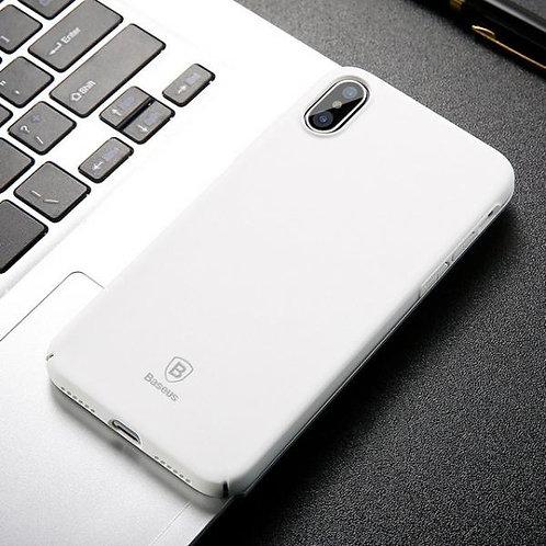 Калъф BASEUS Thin Case iPhone X / XS 5.8' / Бял /