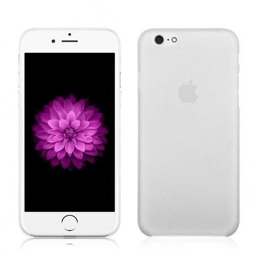 Калъф Ултра тънък PVC / Бял / за iPhone 7G / 8G 4.7 / SE (2020)