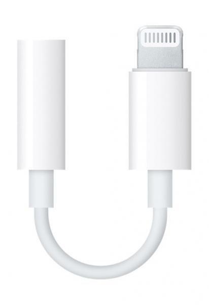 Адаптер Handsfree 3,5 MMX62ZM/A за iPhone 7G / 7 Plus Оригинал