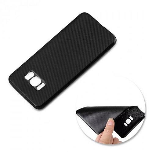 Калъф силикон Карбон /черен/ за iPhone 12 Pro Max 6.7