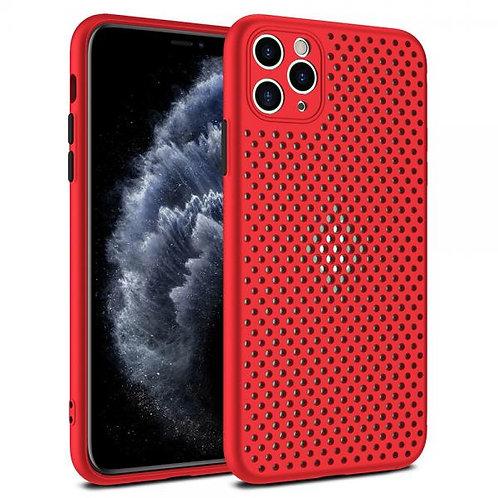 Калъф силикон Breath /Червен/ за iPhone 12 Mini 5.4