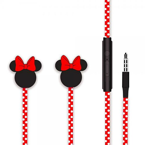 Handsfree Minnie Mouse 3.5 жак /Червен/