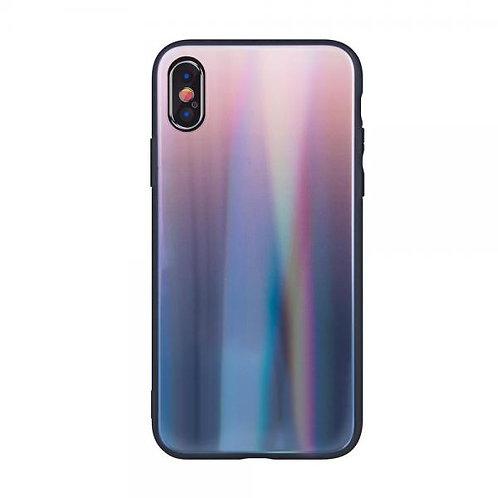 Калъф Aurora Glass Case /Кафяв/ за iPhone 6G / 6S 4.7