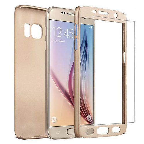 Калъф VORSON Ултратънък 360 SHANG /Златен/ за iPhone 7G / 8G 4.7 / SE (2020)