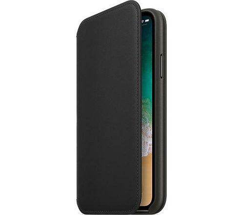 Калъф тефтер Folio / Черен / за iPhone X / XS 5.8