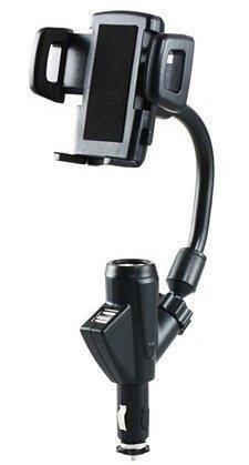Стойка за автомобил 12V двойно USB / F22 /