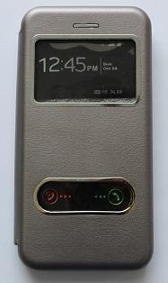 Калъф тефтер ИНФО /Графит/ за iPhone 7G / 8G 4.7 / SE (2020)