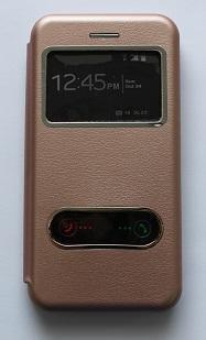 Калъф тефтер ИНФО /Розово злато/ за iPhone 7G / 8G 4.7 / SE (2020)