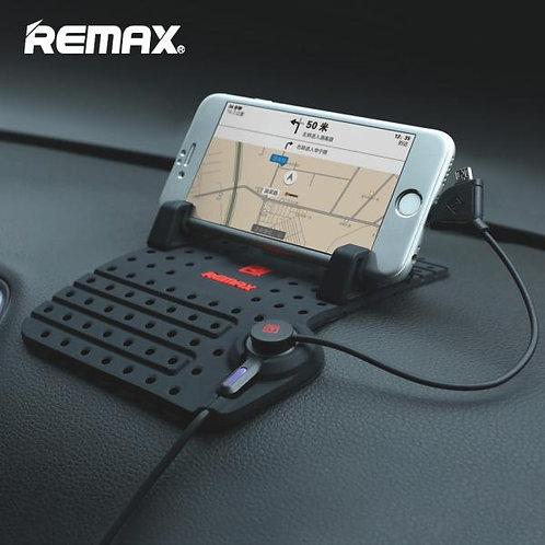 Remax Стойка / Подложка за автомобил с магнитен USB Micro + iPhone