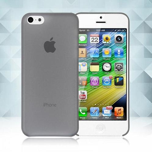 Калъф Ултра тънък PVC / Графит / за iPhone 6G / 6S 4.7