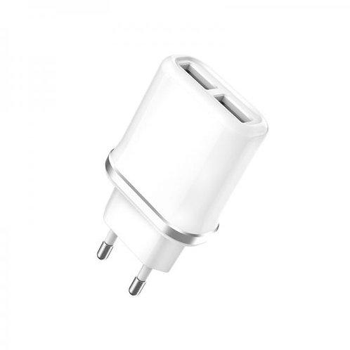 Зарядно/Адаптор 220V XO-L52 2.1A 2 USB Quick Charger