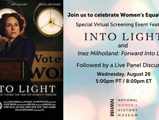 AT LAST! Watch 'Into Light' on #EqualityDay - August 26th