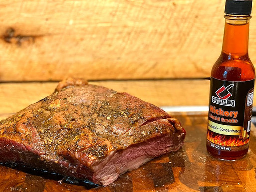 Smokeless Hickory Smoked Beef Brisket