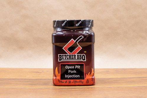 Injection Marinade For Pork Chops | Pork Tenderloin | Open Pit Pork Injection Marinade | Butcher BBQ
