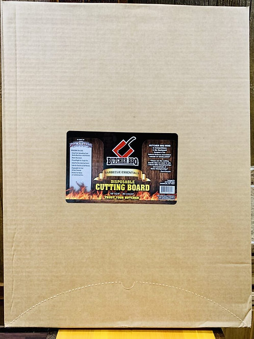 Cutting Board By Butcher BBQ | Disposable