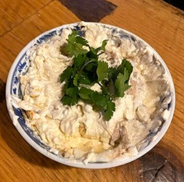 Smoked Oyster Stew with Oyster Spread