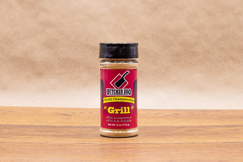 Grill Seasoning For Chicken, Beef, Seafood & Pork | Butcher BBQ Dry Rub Seasoning & Spices