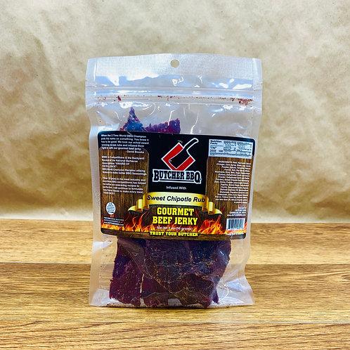 Gourmet Beef Jerky -Sweet Chipotle Flavor