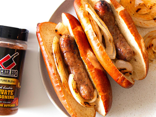 Grilled Sausage and Onion Hoagie