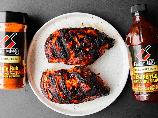 Grilled Chipotle Chicken with Maple Rub