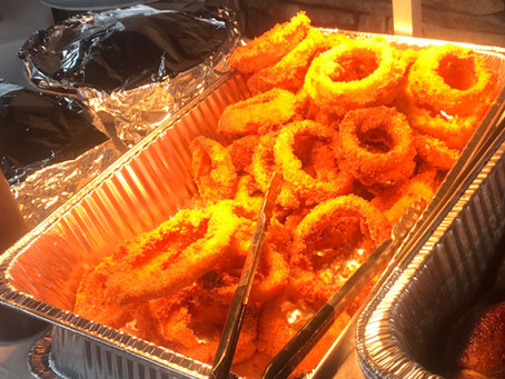 "Hickory and Spice BBQ's ""Secret"" Onion Rings"