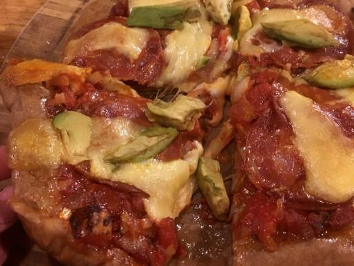 Homemade Smoked BBQ Pizza