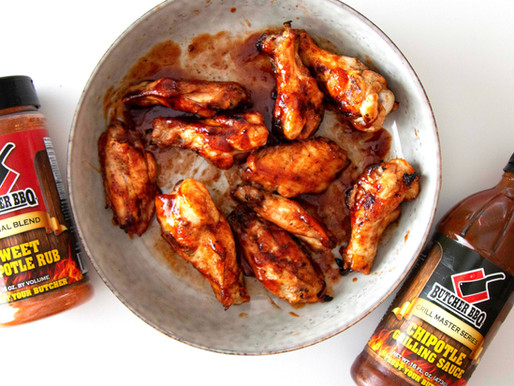 Gameday Grilled Chipotle Chicken Wings