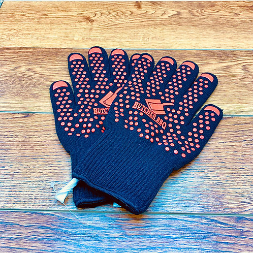 Heat Resistant Gloves For Grilling | Butcher BBQ Gloves