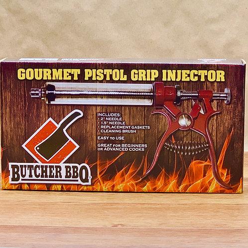 Best meat injector gun | Butcher BBQ Gourmet Pistol Grip Meat Injector