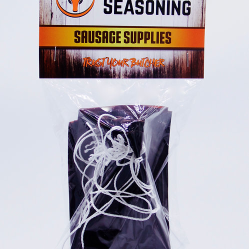Summer Sausage Casing 10 count