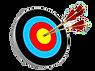 archery-target-d-illustration-three-arro