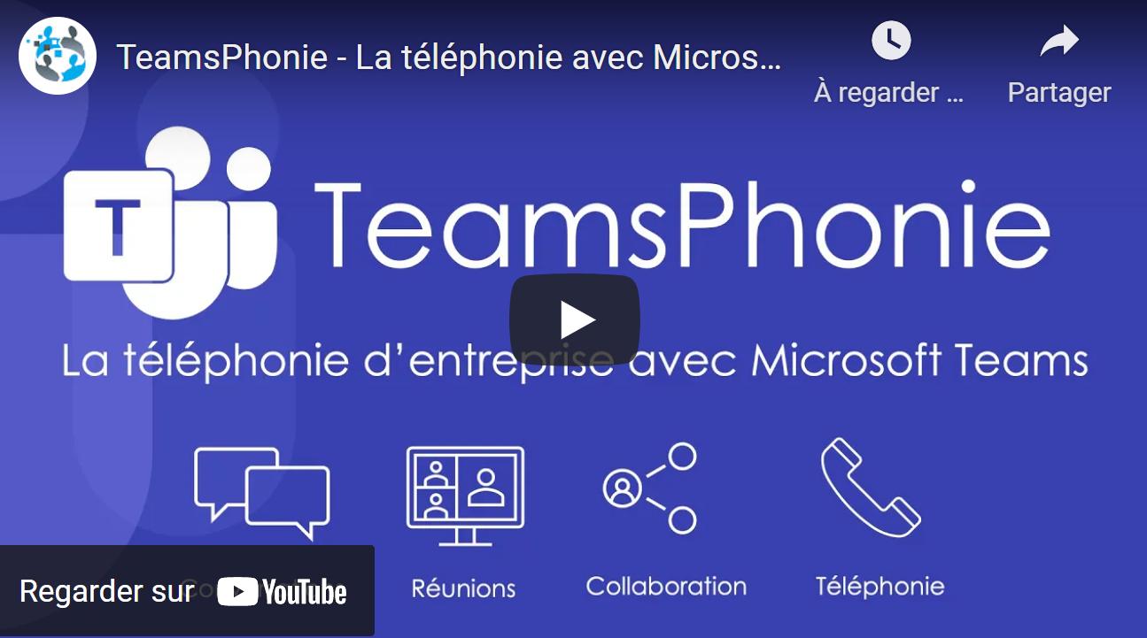 Inscrivez-vous à l'un de nos webinars afin de découvrir TeamsPhonie
