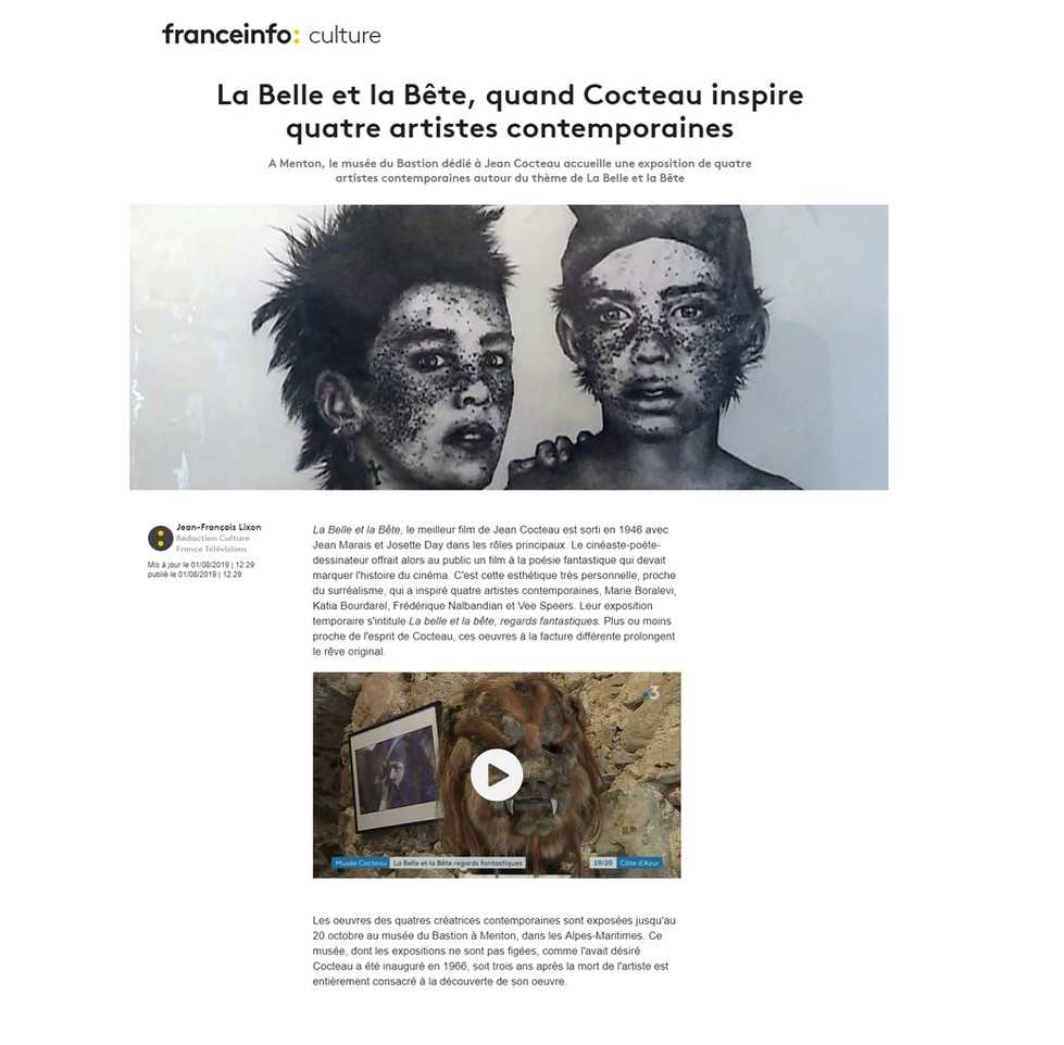 Jean Cocteau Exposition Marie Boralevi.j