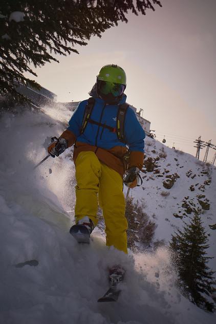 Tournage vidéo à la montagne