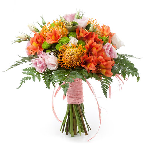 Pink and Protea