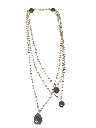 Three Layer Labrodite Necklace