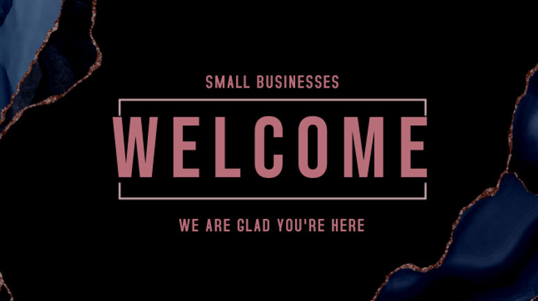 Copy of Welcome Rocks - Made with Poster