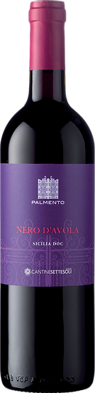 CANTINE SETTESOLI Palmento Nero D'Avola DOC 太陽谷酒莊  古器 黑阿沃拉