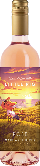 EDDIE MCDOUGALL Little Pig Rose 2019 艾迪 迷你豬