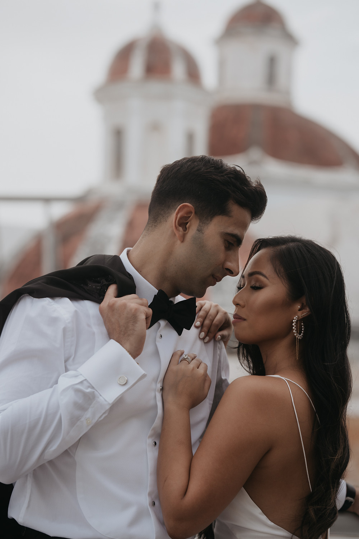 Romantic Elopement San Juan Puerto Rico