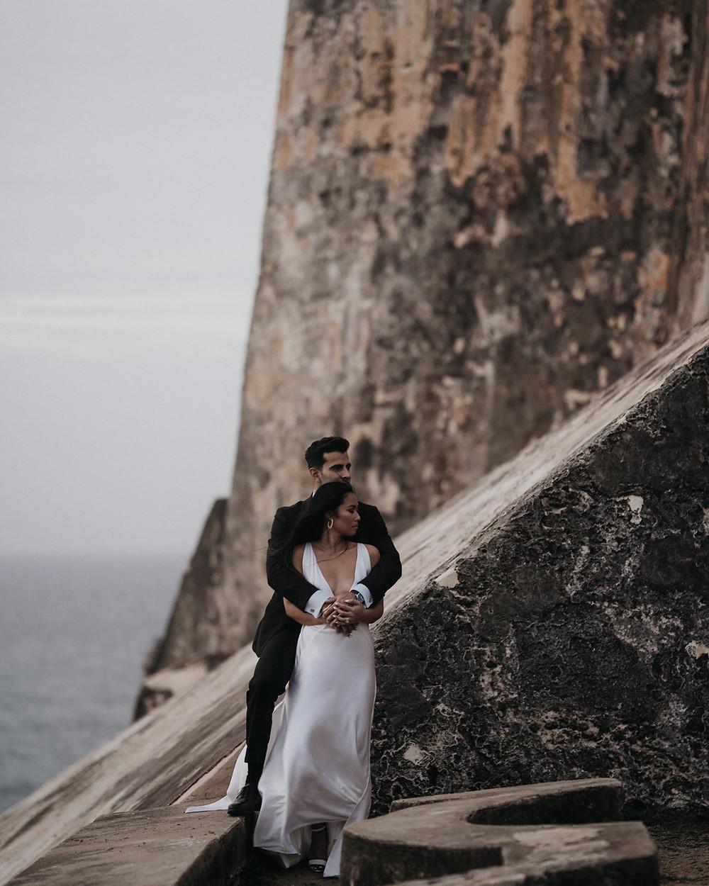 Romantic Adventure Elopement Old San Juan