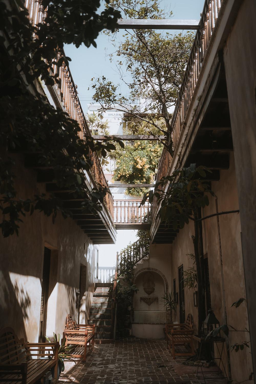 Villa Herencia Eclectic Bohemian Elopement Old San Juan Puerto Rico